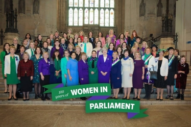 Sheryll Murray MP with local Councillors at her office in Parliament and  with the Prime Minister and a celebration in Parliament